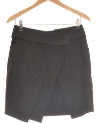 Comptoir Des Cotonniers Jupe Courte 36 - T1 - S Jupes - Noir