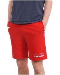 Converse 10020054-A02 Short - Rouge