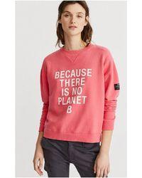 Ecoalf Sweat-shirt - Rose