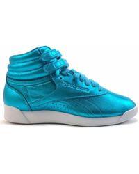Reebok F/S Hi Metallic femmes Chaussures en bleu