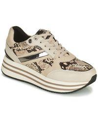 Geox Lage Sneakers Kency - Naturel