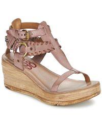 A.s.98 Noa Women's Sandals In Pink