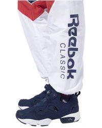 Reebok Jogging Pantalon de survêtement CLASSICS - Bleu