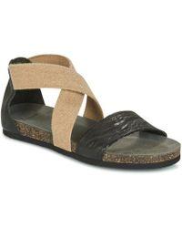Think! - Tretec Women's Sandals In Brown - Lyst