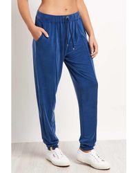 Monreal - Boyfriend Sweatpant Sapphire - Xs Multicolour Women's Sportswear In Multicolour - Lyst