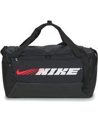 Nike Sporttas Brsla S Duff-9.0 Px Gfx Sp2 - Zwart