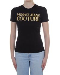 Versace Jeans Couture B2 HWA7TB 30319 T-shirt - Noir