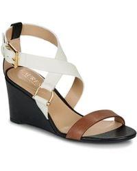 Lauren by Ralph Lauren Chadwell Sandals Casual Wedge Sandals - Multicolour