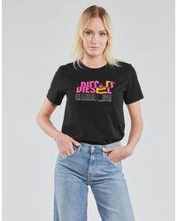 DIESEL Camiseta A04159-0AAXJ-9XX - Negro