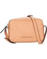 Calvin Klein Schoudertas Ck Must Psp20 Camerabag Ny - Naturel