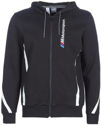 PUMA Windjack Bmw Mms Hooded Sweat Jacket - Zwart