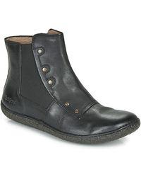 Kickers Laarzen Happli - Zwart
