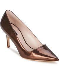 ESCADA - As707 Women's Court Shoes In Brown - Lyst