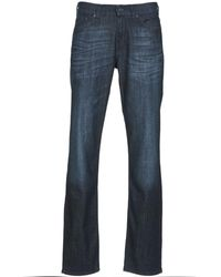7 For All Mankind Straight Jeans Slimmy New Los Angeles - Blauw