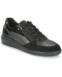 Geox Lage Sneakers Tahina - Zwart