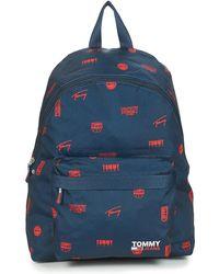 Tommy Hilfiger Rugzak Tjm Campus Dome Backpack Print - Blauw