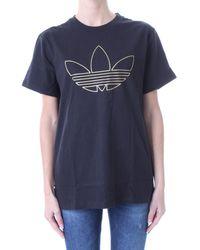 adidas T-shirt Korte Mouw H18026 - Zwart