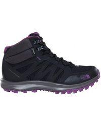 3472f05607 The North Face - Litewave Fastpack Mid Gtx Goretex femmes Chaussures en  multicolor - Lyst