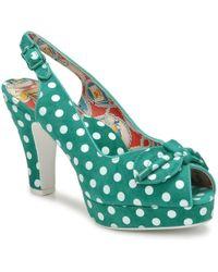 Miss L'Fire | Casablanca Women's Sandals In Green | Lyst