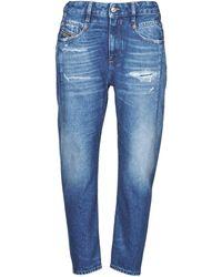 DIESEL Jeans Boyfriend D-Fayza - Blu