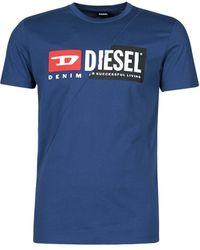 DIESEL T-Shirt 00Sdp1-0091A-8Mg - Blu
