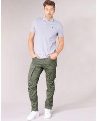 G-Star RAW Pantalone Cargo Rovic Zip 3D Straight Tapered - Verde