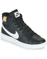 Nike Lage Sneakers Court Royale 2 Mid - Zwart