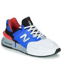New Balance Lage Sneakers 997 - Blauw