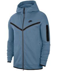 Nike Jersey Tech Fleece - Azul