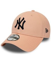 KTZ Casquette incurvée New York Yankees 9FORTY Casquette - Rose
