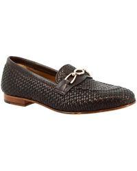 Leonardo Shoes Tor05 Vitello Moro Loafers / Casual Shoes - Brown