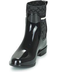 COACH Regenlaarzen Rivington Rain Bootie - Zwart