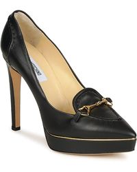 Moschino MA1003 femmes Chaussures escarpins en Noir