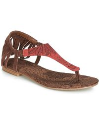 Desigual Sandalen Shoes_lupita_lottie - Bruin