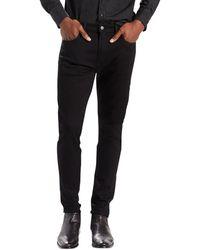 Levi's Homme 512 Slim Fit fuselés NightShine Jeans, Noir hommes Jeans en Noir