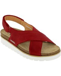 Mobils By Mephisto Tally Sandales - Rouge