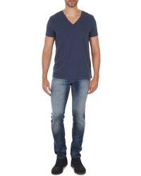 Meltin'pot Straight Jeans Martin - Blauw