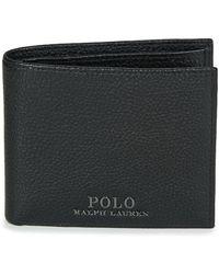 Polo Ralph Lauren Portemonnee Prl Bil Coin-wallet-small - Zwart
