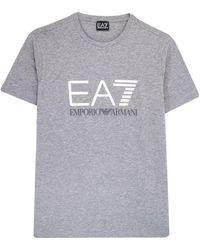 EA7 Camisetas - Gris