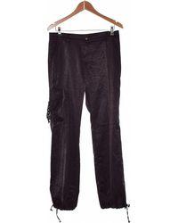 Zadig & Voltaire Pantalon Droit Femme 40 - T3 - L Pantalon - Noir
