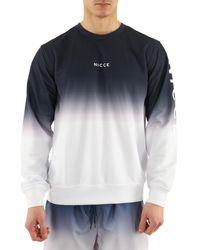 Nicce London Sweat-shirt Sweat col rond Fade Sweat - Multicolore