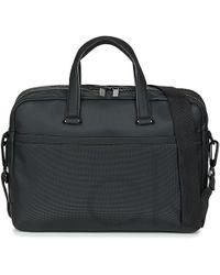 Calvin Klein - Ck Point Laptop Bag Extra Men's Briefcase In Black - Lyst