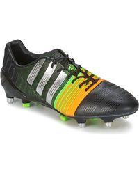 adidas NITROCHARGE 1.0 SG hommes Chaussures de foot en Noir - Multicolore