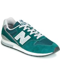 size 40 86bcb 56a97 New Balance Ml574gpd Men's Shoes (trainers) In Green for Men ...