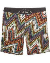 Vissla Bone Del Mar 20 Inch Boardshorts Shorts - Black