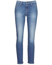 Lee Jeans Straight Jeans Elly - Blauw