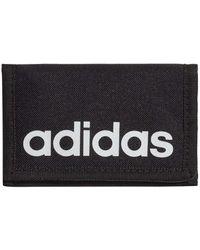 adidas Essential Logo Purse Wallet - Black