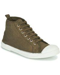 Bensimon Lage Sneakers Tennis Stella - Groen