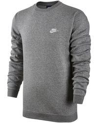 Nike - Sweater Nsw Fleece Club Crew 804340-063 - Lyst