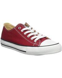 Victoria - 106550 f femmes Chaussures en rouge - Lyst